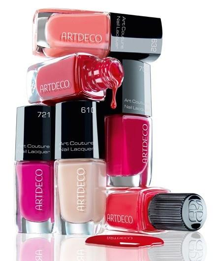Летняя коллекция лаков для ногтей Artdeco Art Couture Nail Lacquer Summer 2014 Collection