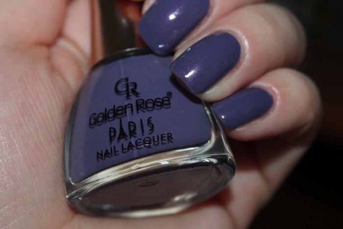 Лак для ногтей Golden Rose Paris №142