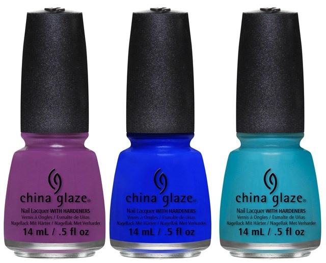 Оттенки лаков для ногтей China Glaze Off Shore Summer 2014 Collection