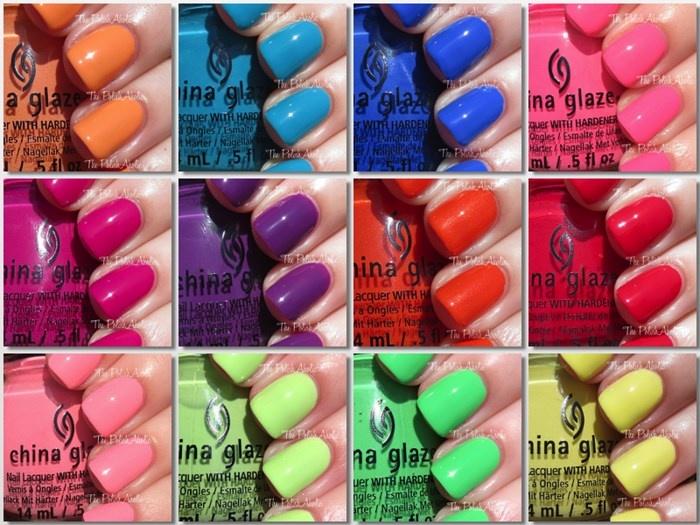 Летняя коллекция лаков для ногтей China Glaze Off Shore Summer 2014 Collection