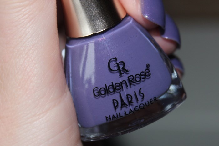 Свотчи лака для ногтей Golden Rose Paris №142