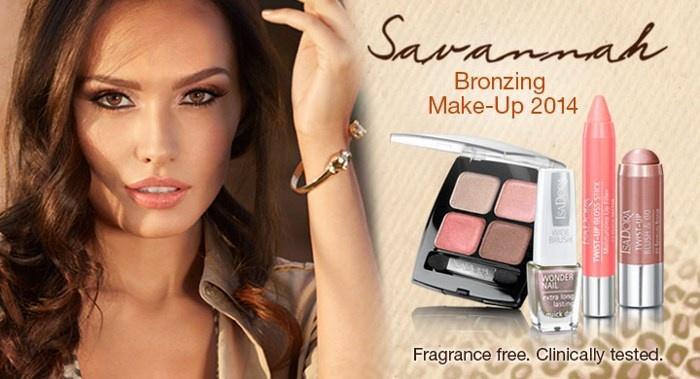 Летняя коллекция макияжа Isadora Savannah Summer 2014 Collection