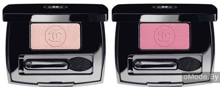 Одиночные тени для век Chanel Ombre Essentielle Soft Touch Eyeshadow - №102 Sensation (бледно-розовый), №104 Palpitation (мягкий розовый)