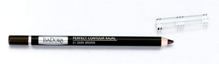 Контурный карандаш для глаз Isadora Perfect Contour Kajal - №61 Dark Brown
