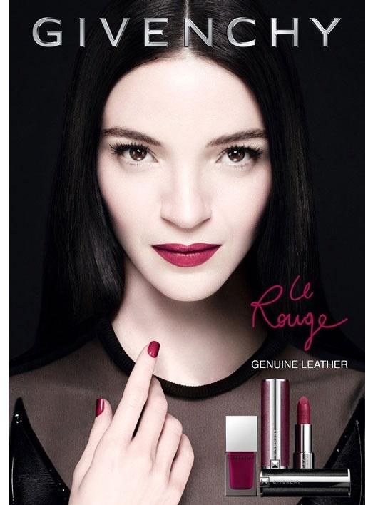 Коллекция макияжа для губ и ногтей Givenchy Le Rouge Genuine Leather Collection