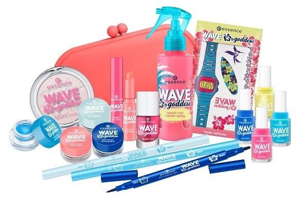 Летняя коллекция макияжа Essence Wave Goddess Summer 2014 Collection