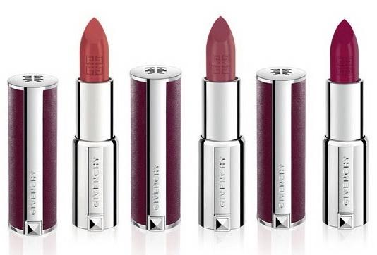 губная помада Givenchy Le Rouge Intense Color Sensuously Mat Lipstick - №103 Brun Createur, №207 Rose Plumetis,  №315 Framboise Velours