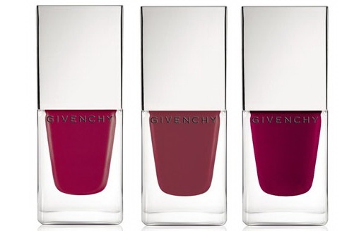 Лаки для ногтей Givenchy Le Vernis Intense Color Nail Lacquer - №17 Charm Rose Pink, №18 Satin Rose, №19 Light Purple Rose