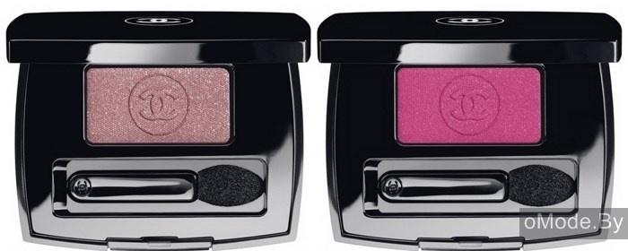 Одиночные тени для век Chanel Ombre Essentielle Soft Touch Eyeshadow - №106 Hésitation (сливово-розовый), №108 Exaltation (яркий розовый)