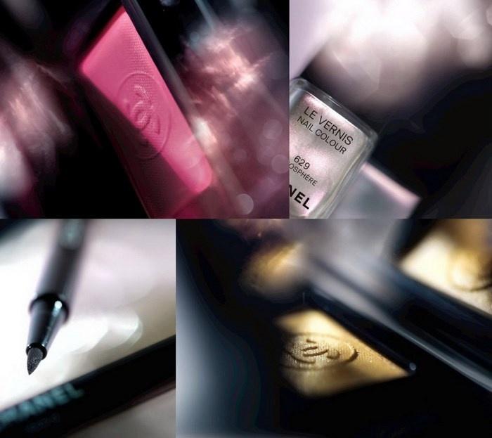 Осенняя коллекция макияжа Chanel Etats Poetiques Fall 2014 Collection коллаж
