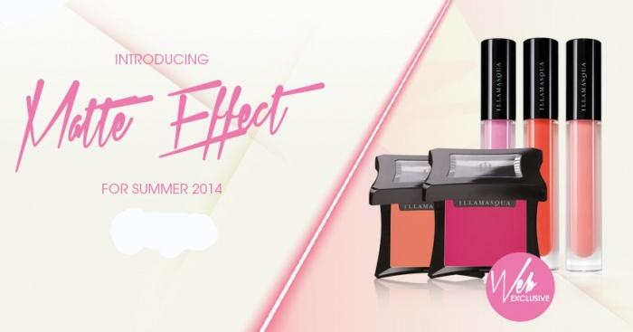 Летняя коллекция макияжа Illamasqua Matte Effect Summer 2014 Collection