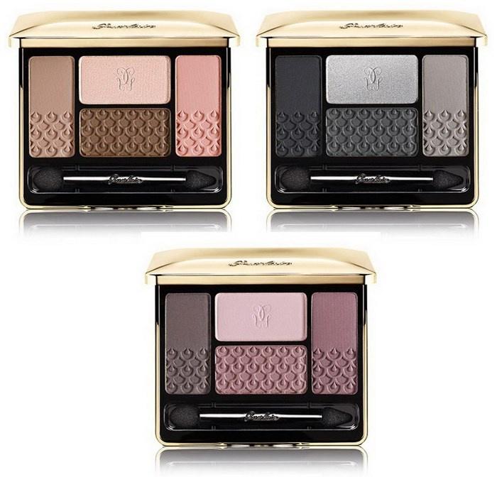 Четырехцветные тени для век Guerlain Ecrin 4 Couleurs Eyeshadow Palette (новые тона)