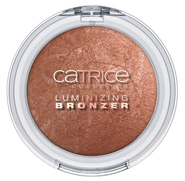 Пудра-бронзер для лица с мраморным эффектом Catrice Luminizing Bronzer  C01 Shimmer Shade