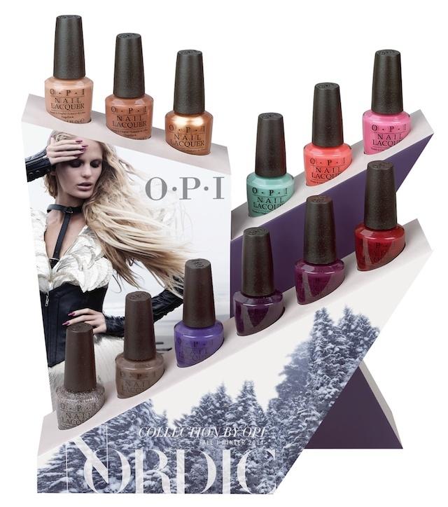 Осенняя коллекция лаков для ногтей OPI Nordic Fall 2014 Collection
