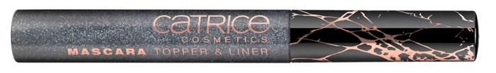 Продукт для ресниц 2 в 1 (жидкая подводка/цветное топовое покрытие) Catrice Mascara Topper & Liner