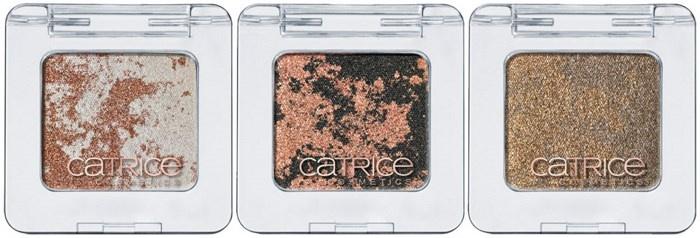 Пудровые тени для век  с металлическим финишем Catrice Metallic Marbled Eye Shadow