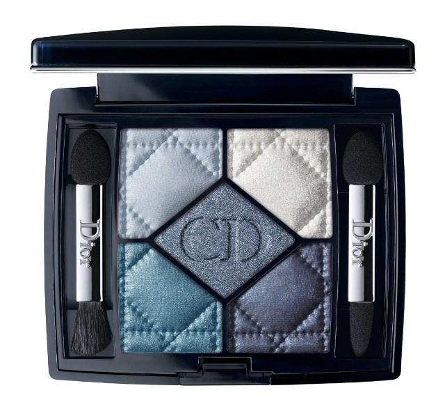 Пятицветная палетка теней для век  Dior 5 Couleurs Eyeshadow Palette - №276 Carré Bleu