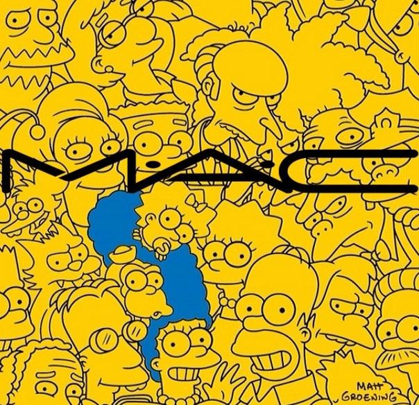 Осенняя коллекция макияжа MAC The Simpsons Fall 2014 Collection