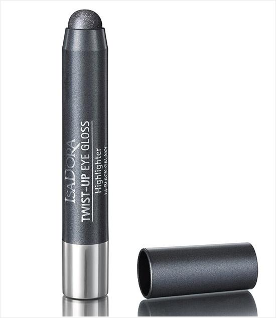 Выкручивающиеся кремовые тени для век Twist-up Eye Gloss - №14 Black Galaxy