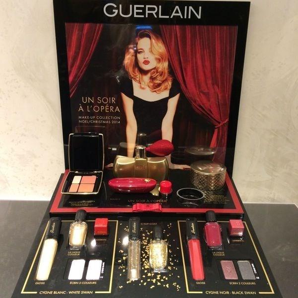 Рождественская коллекция макияжа Guerlain Un Soir a L'Opera Christmas 2014 Collection