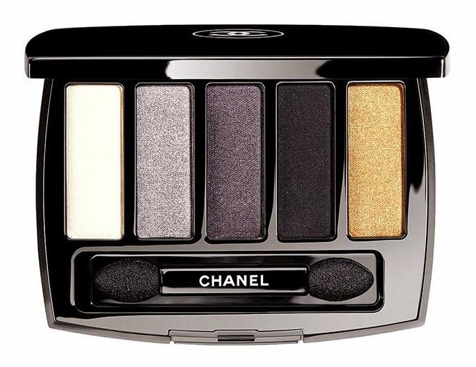 Пятицветные тени для век Les 5 Ombres de Chanel Eyeshadow Palette
