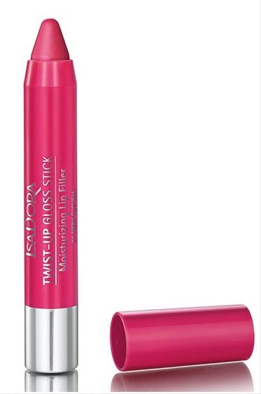 Выкручивающийся полупрозрачный блеск для губ Twist-up Gloss Stick - №27 Fiery Fuchsia