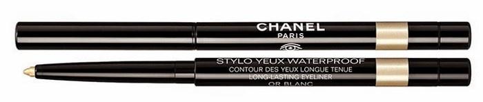 Водостойкий лайнер для глаз Stylo Yeux Waterproof  Long-Lasting Eyeliner - №987 Or Blanc