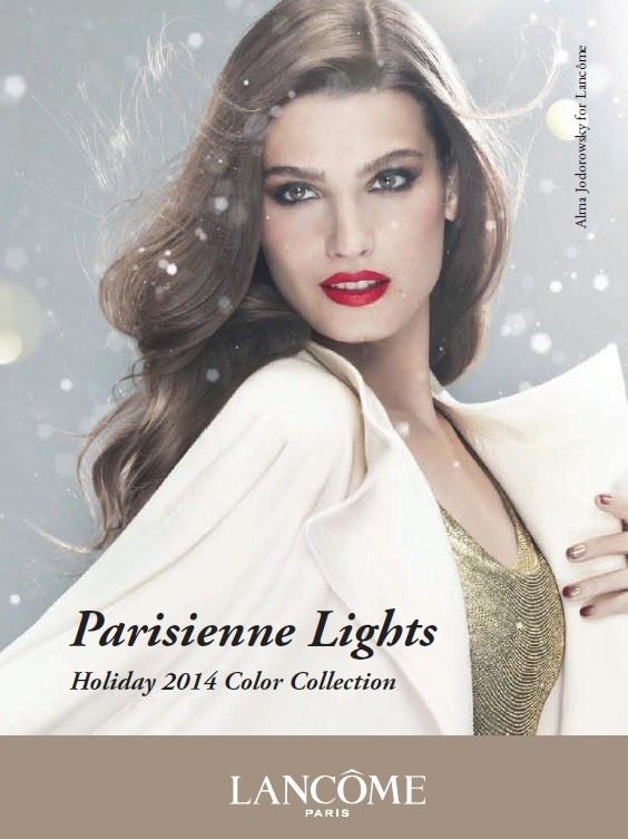 Рождественская коллекция макияжа Lancome Parisian Lights Holiday 2014 Collection