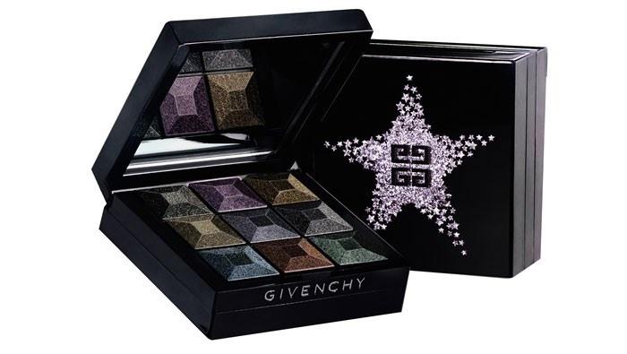 Четырехцветные тени для век Givenchy Le Prismissime Yeux  - Noirs En Folie