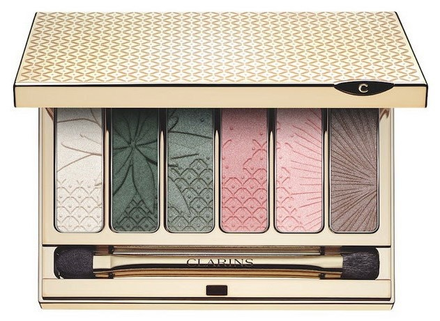 Палетка теней для век Clarins Garden Escape Eyeshadow Palette