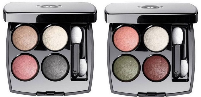 Четырехцветные тени для век Les 4 Ombres Multi-Effect Quadra Eyeshadow