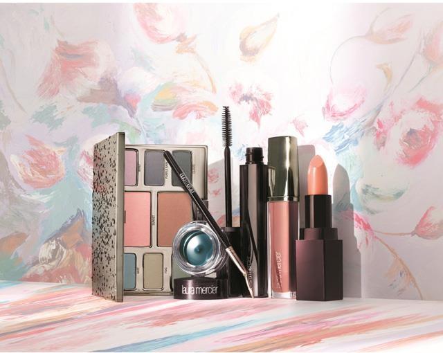 Весенняя коллекция макияжа Laura Mercier Watercolour Clouds Spring 2015 Collection