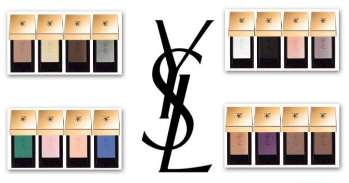 одиночные тени для век YSL Couture Mono Eyeshadows