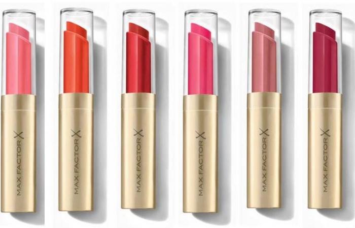 Max Factor ухаживающая помада-бальзам для губ Colour Elixir Intensifying Balm оттенки