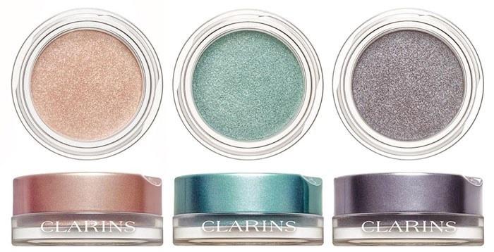 Стойкие кремовые тени для век Clarins Ombre Iridescente