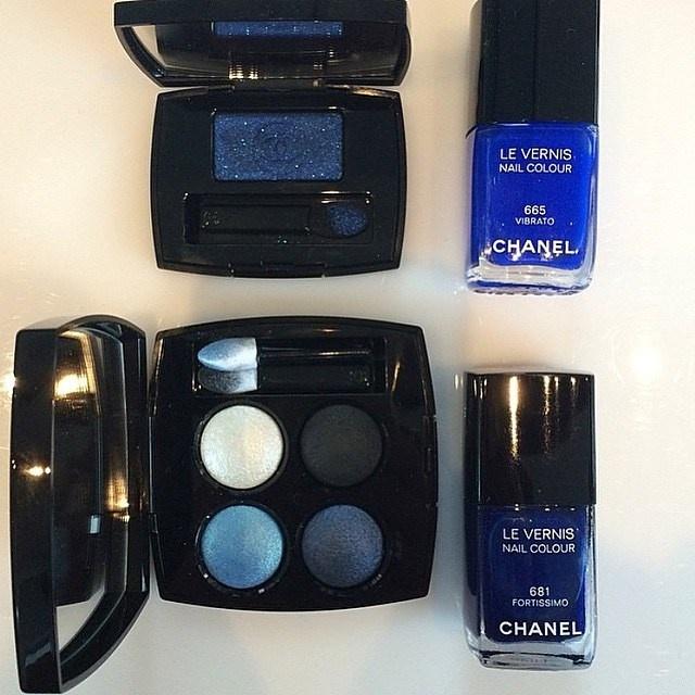 Летняя коллекция макияжа Chanel Blue Rhythm de Chanel Summer 2015 Collection