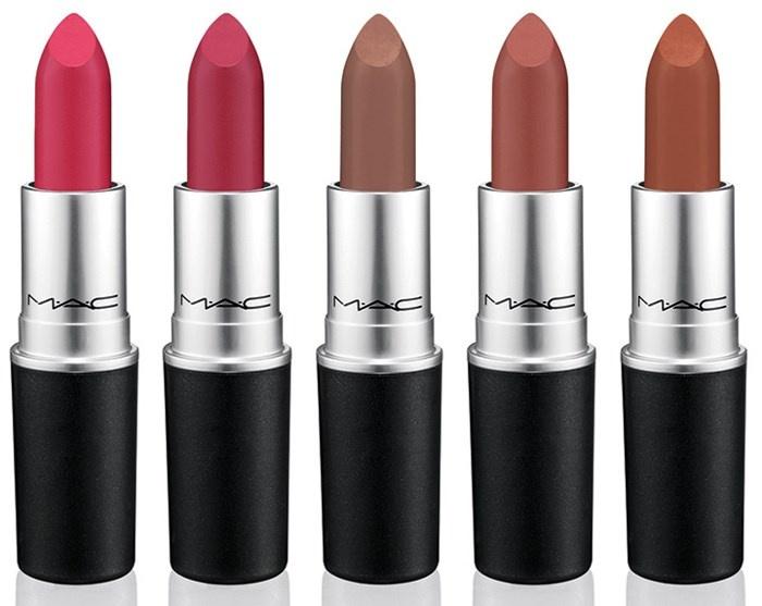 Оттенки матовых губных помад MAC The Matte Lip Summer 2015 Collection