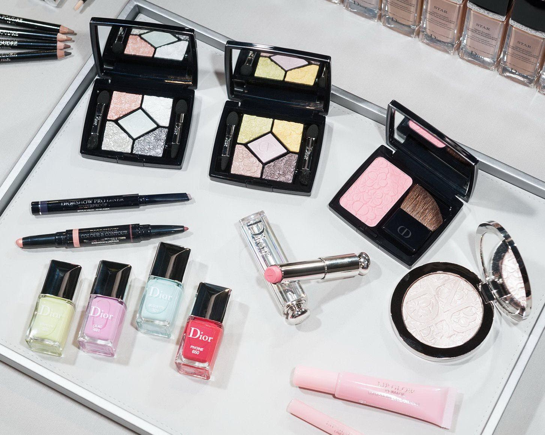 Весенняя коллекция макияжа Dior Glowing Gardens Spring 2016 Collection