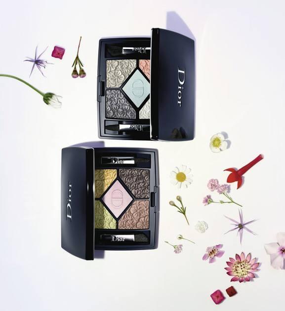 Пятицветные тени для век Dior 5-Couleurs Palette (лимитированный выпуск)