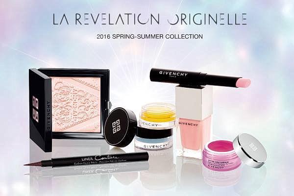 Весенне-летняя коллекция макияжа Givenchy La Revelation Originelle Spring 2016 Collection