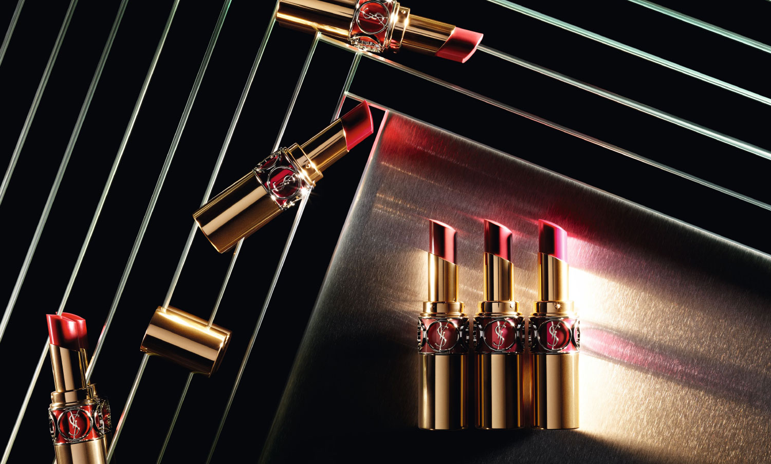Весенняя коллекция губных помад YSL Rouge Volupte Shine Oil-in-Stick Lipstick Spring 2016 Collection
