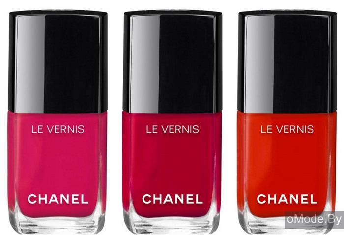 лаки для ногтей Сhanel Le Vernis Longwear Nail Colour - оттенки