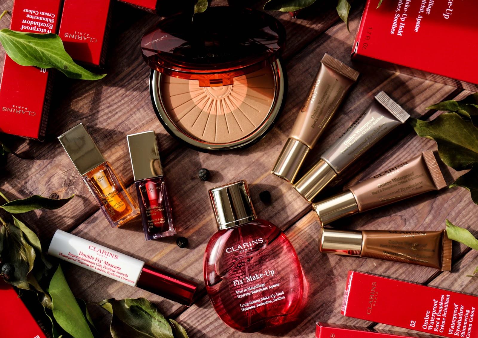 Летняя коллекция макияжа Clarins Hâle D'Été Summer 2016 Collection