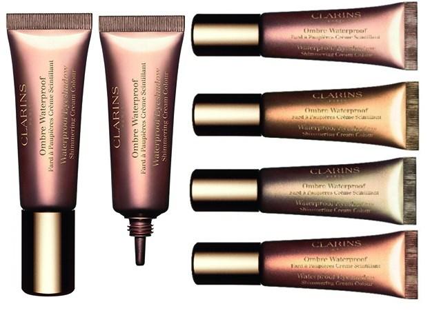 Водостойкие кремовые тени для век Clarins Waterproof Eyeshadow (новинка)