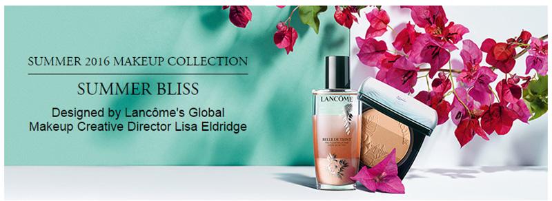 Летняя коллекция макияжа Lancome Summer Bliss 2016 Collection
