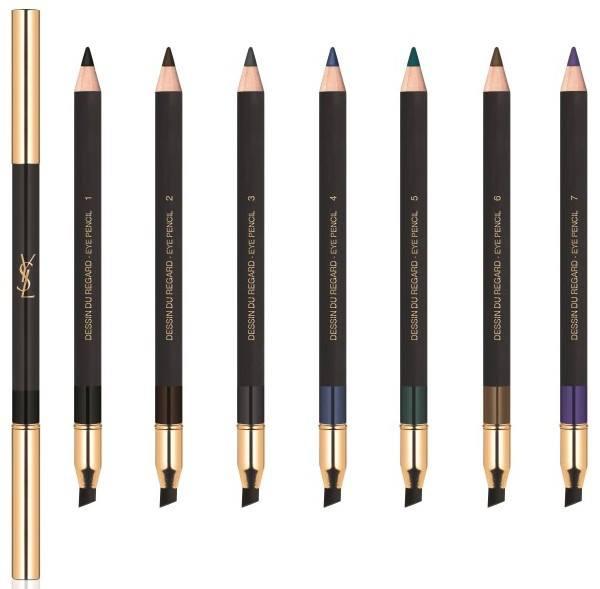 Контурный карандаш для глаз YSL Dessin Du Regard Eye Pencil (7 оттенков)