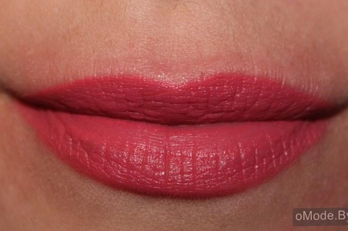 Свотчи блеска для губ Lux Visage PIN-UP №8 - блеск сразу после нанесения