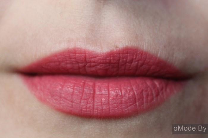 Свотчи блеска для губ Lux Visage PIN-UP №8 - в конце рабочего дня