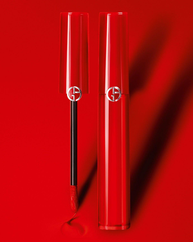 Новая коллекция матовых лаков для губ Giorgio Armani Lip Maestro Drama