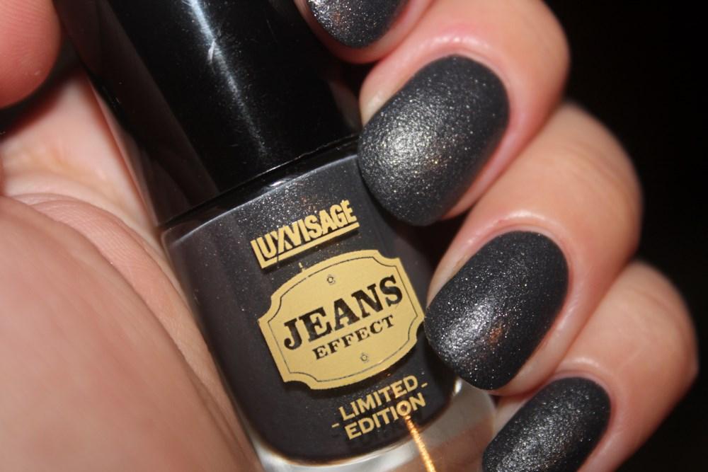 Лак для ногтей Lux Visage Jeans Effect №97 отзывы и свотчи
